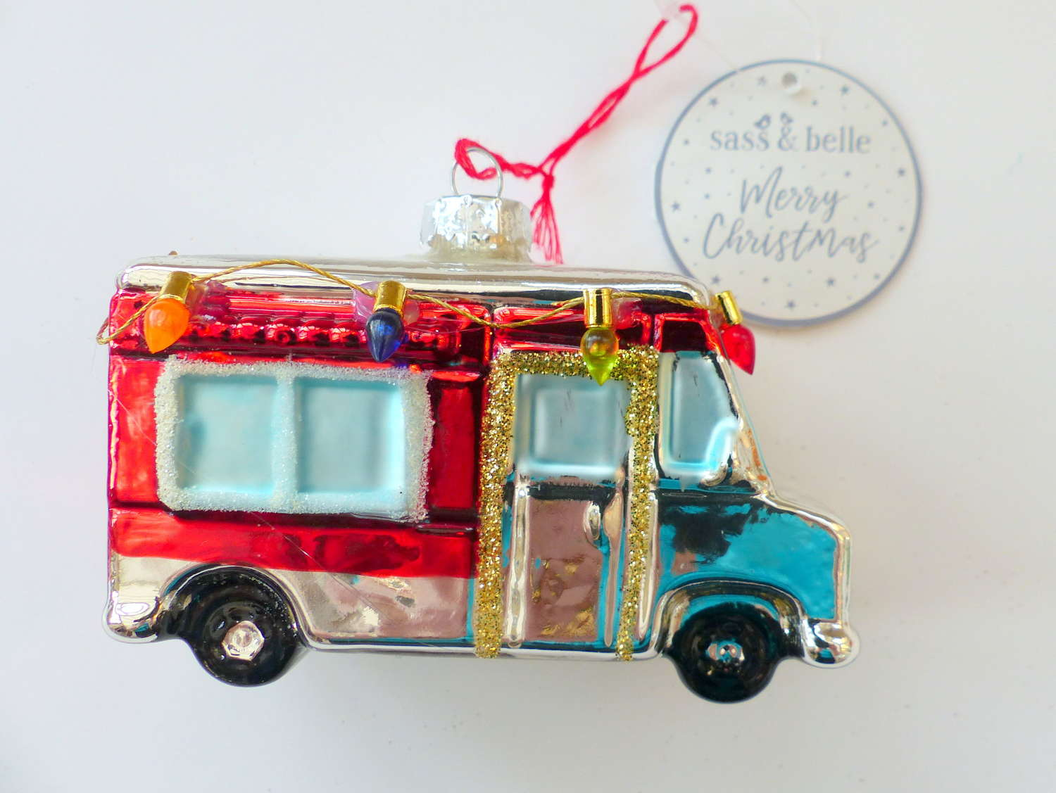 Sass and Belle Mobile Home Tree Decoration