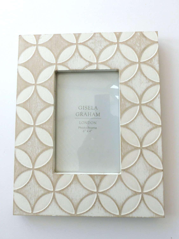 Gisela Graham Scandi-Style Photo Frame